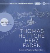 Herzfaden. Roman der Augsburger Puppenkiste, 2 Audio-CD, MP3 Cover