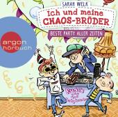 Ich und meine Chaos-Brüder - Beste Party aller Zeiten, 1 Audio-CD Cover
