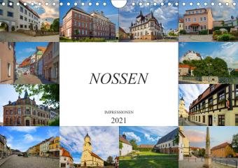 Nossen Impressionen (Wandkalender 2021 DIN A4 quer)