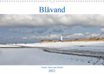 Blåvand - Sonne, Meer und Strand (Wandkalender 2021 DIN A3 quer)