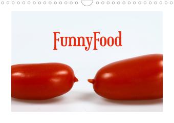 FunnyFood (Wandkalender 2021 DIN A4 quer)