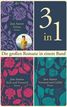 Die großen Romane Emma - Stolz und Vorurteil - Verstand und Gefühl