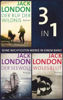 Seine wichtigsten Werke Ruf der Wildnis - Der Seewolf - Wolfsblut