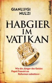 Habgier im Vatikan Cover