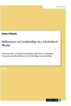 Influences on Leadership in a Globalised World