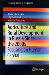 Agriculture and Rural Development in Russia Since the 2000s