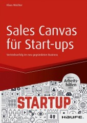 Sales Canvas für Start-ups inkl. Arbeitshilfen online