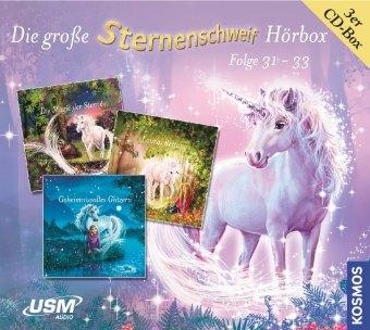 Die große Sternenschweif Hörbox Folgen 31-33 (3 Audio CDs), 3 Audio-CD