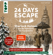 24 DAYS ESCAPE - Der Escape Room Adventskalender: Sherlock Holmes und das Geheimnis der Kronjuwelen Cover