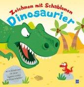 Zeichnen mit Schablonen - Dinosaurier