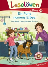 Leselöwen 1. Klasse - Ein Pony namens Erbse Cover