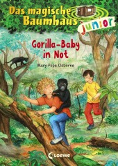Das magische Baumhaus junior - Gorilla-Baby in Not Cover