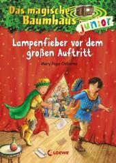 Das magische Baumhaus junior - Lampenfieber vor dem großen Auftritt Cover