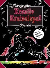 Mein großer Kreativ-Kratzelspaß: Pferde Cover