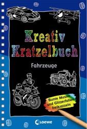 Kreativ-Kratzelbuch: Fahrzeuge, m. Kratzstift