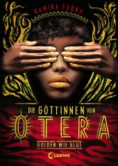 Die Göttinnen von Otera - Golden wie Blut Cover