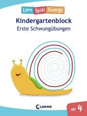 LernSpielZwerge - Kindergartenblock Erste Schwungübungen