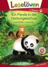 Leselöwen 1. Klasse - Ein Panda in der Dschungelschule Cover