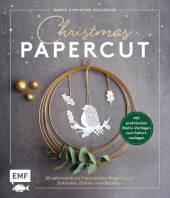 Christmas Papercut - Weihnachtliche Papierschnitt-Projekte zum schneiden, basteln und gestalten Cover