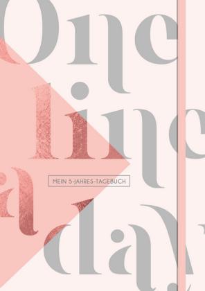 One Line a Day - Mein Fünf-Jahres-Tagebuch DIN A5