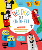 Helden der Kindheit - Das Bastelbuch Cover