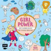 Girlpower - Das Ausmalbuch für starke Mädchen
