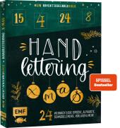 Mein Adventskalender-Buch: Handlettering X-Mas! Cover