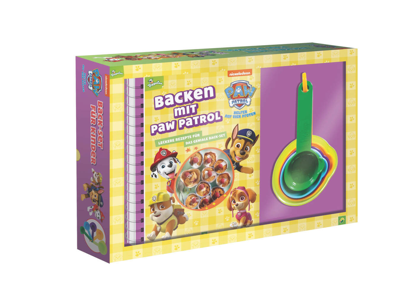 Backen mit PAW Patrol, m. 5 Messbechern