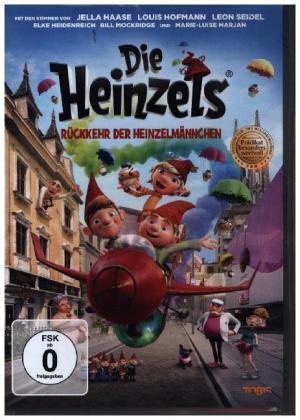 Die Heinzels - Rückkehr der Heinzelmännchen, 1 DVD