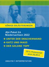 Abi-Paket EA Niedersachsen 2022 - Königs Erläuterungen, 3 Bde.