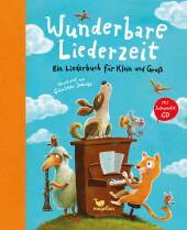 Wunderbare Liederzeit, m. Audio-CD, MP3 Cover