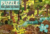 Ein Jahr im Wald - Puzzle