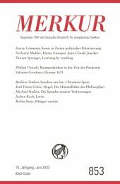MERKUR Gegründet 1947 als Deutsche Zeitschrift für europäisches Denken - 2020-06