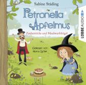 Petronella Apfelmus - Zaubertricks und Maulwurfshügel, 2 Audio-CD