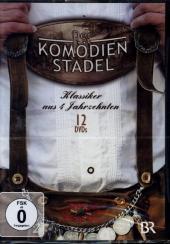 Der Komödienstadel - Klassiker aus vier Jahrzehnten, 12 DVD Cover