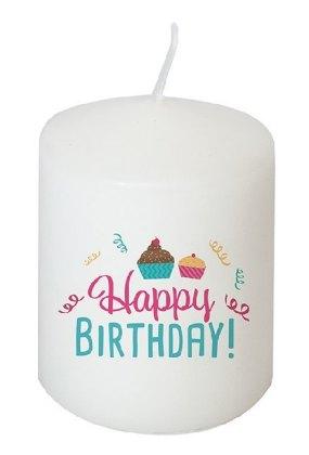 Kerze Happy Birthday!