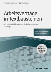 Arbeitsverträge in Textbausteinen - inkl. Arbeitshilfen online