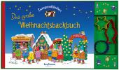 Zwergenstübchen Das große Weihnachtsbackbuch, 3 Bde. m. Ausstechförmchen