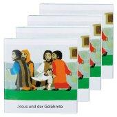 Jesus und der Gelähmte (4er-Pack)