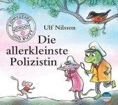 Die allerkleinste Polizistin, 1 Audio-CD Cover