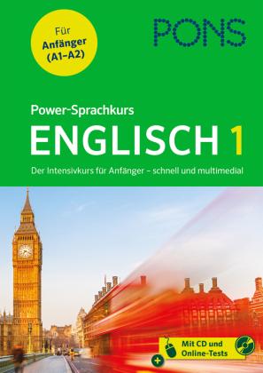 PONS Power-Sprachkurs Englisch 1