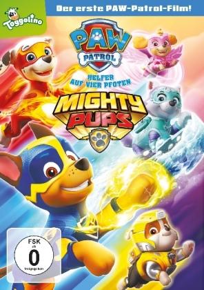 Paw Patrol - Mighty Pups, 1 DVD