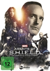 Marvel's Agents of S.H.I.E.L.D., 6 DVD Cover