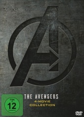 The Avengers 4-Movie DVD Collection, 4 DVD