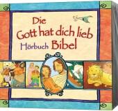 Die Gott hat dich lieb Bibel zum Anhören, 4 Audio-CD