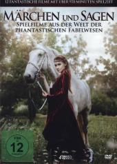 Märchen und Sagen - 12 Filme Box-Edition, 4 DVD Cover