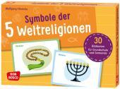 Bildkarten Symbole der 5 Weltreligionen