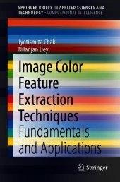 Image Color Feature Extraction Techniques