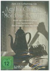 Agatha Christie - Mord zur Tea Time, 2 DVD Cover