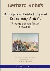 Beiträge zur Entdeckung und Erforschung Afrikas